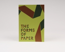 Musterbuch - The Forms of Paper