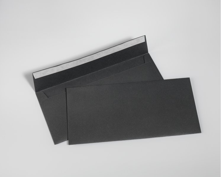 SAVILE ROW PLAIN, Dark Grey - DIN lang 11 x 22 cm