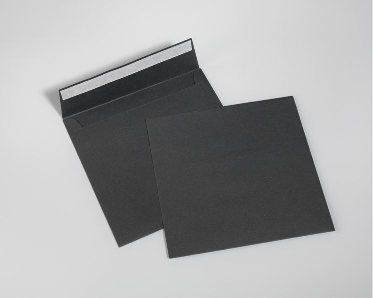 SAVILE ROW PLAIN, Dark Grey - Quadro 17 x 17 cm