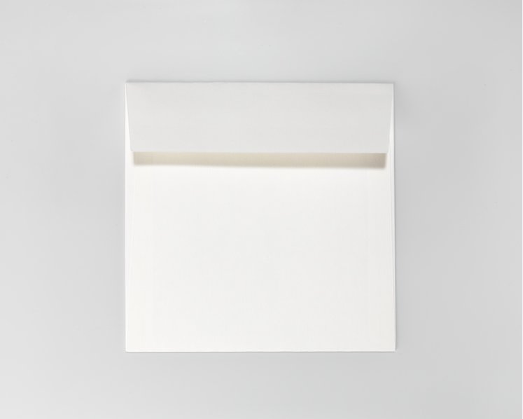 SAVILE ROW PLAIN, White - Quadro 17 x 17 cm